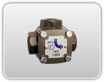 Thermic mixing valves